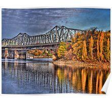Bridge over Water Poster