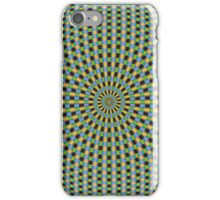 Rings in Bue Yellow Pink and Red iPhone Case/Skin