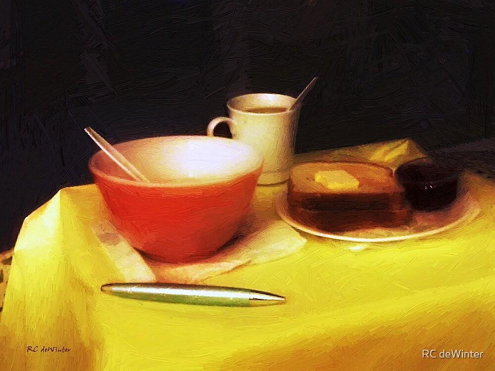 Breakfast at Dawn by RC deWinter