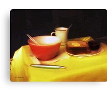 Breakfast at Dawn Canvas Print