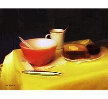 Breakfast at Dawn Photographic Print