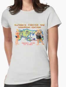 Ultimate Fighter 193 Rousey vs Holm Womens Fitted T-Shirt