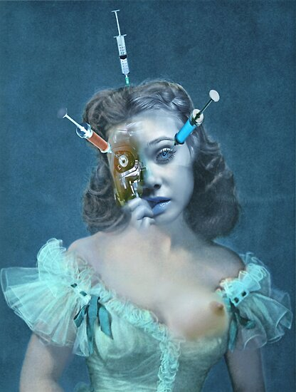 Portrait of a Female Futurist 3. by - nawroski -