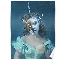 Portrait of a Female Futurist 3. Poster