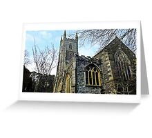 """ A Church with a History"" Greeting Card"