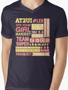 "iisuperwomanii ""retro"" collage Mens V-Neck T-Shirt"
