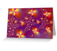 Yellow and Orange Flutterbyes Greeting Card