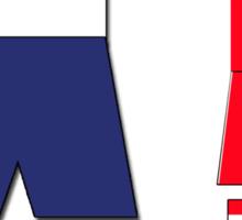 Class vs Arse Sticker
