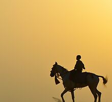 Boy on a Horse by lamiel