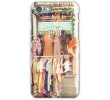 Vintage Fashion Shop iPhone Case/Skin