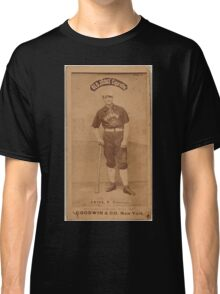 Benjamin K Edwards Collection Emil Geiss Chicago White Stockings baseball card portrait Classic T-Shirt