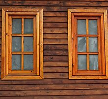 Wooden Windows by Clockworkmary