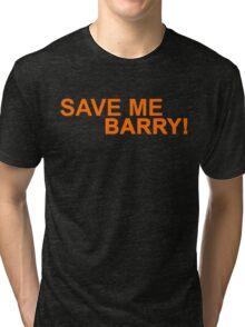 Who's Barry? Tri-blend T-Shirt