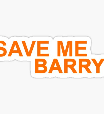 Who's Barry? Sticker