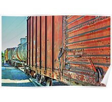 Rolling Stock Grapevine, TX  Poster