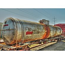 The Tank Car  Grapevine TX  Photographic Print