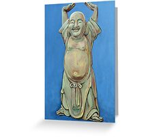 Standing Happy Greeting Card