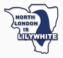 North London is Lilywhite by CoysShirts