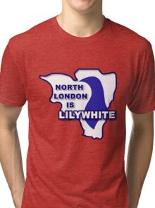 North London is Lilywhite Tri-blend T-Shirt