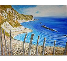 Man O War - from the cliff top. Photographic Print