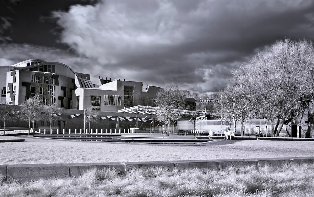 Scottish Parliament by Don Alexander Lumsden (Echo7)
