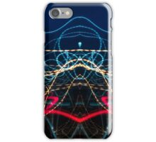 Lightpainting Abstract Symmetry UFA Prints #6 iPhone Case/Skin