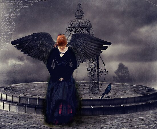 Dark Angel by ©Maria Medeiros