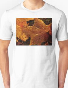 Rain on Leaf T-Shirt