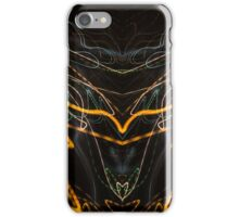 Lightpainting Abstract Symmetry UFA Prints #8 iPhone Case/Skin
