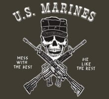 Marines Mess With The Best by Deadscan