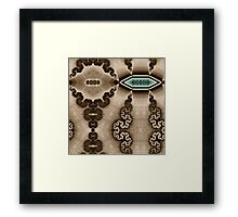 Charging Station Framed Print