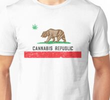 Vintage Cannabis Republic Unisex T-Shirt
