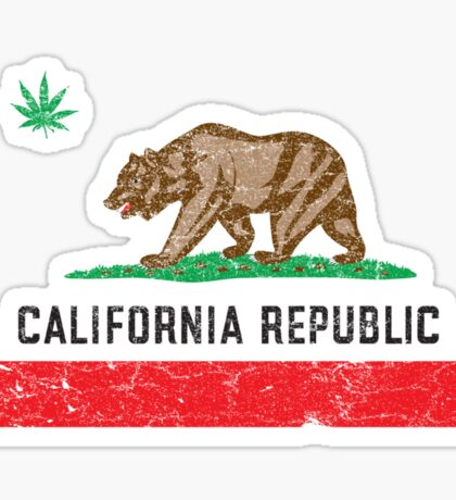 Vintage California Cannabis Sticker