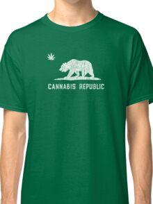 Vintage Cannabis Republic - Dark Classic T-Shirt