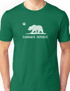 Vintage Cannabis Republic - Dark Unisex T-Shirt