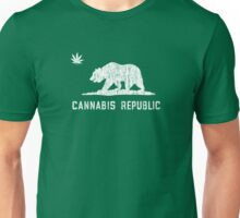 Vintage Cannabis Republic - Dark Unisex T-Shirt