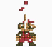 Super Mario Pixel  One Piece - Long Sleeve