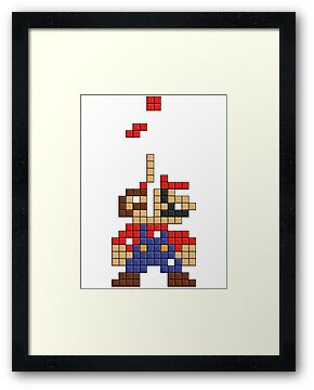Super Mario Pixel by tombst0ne