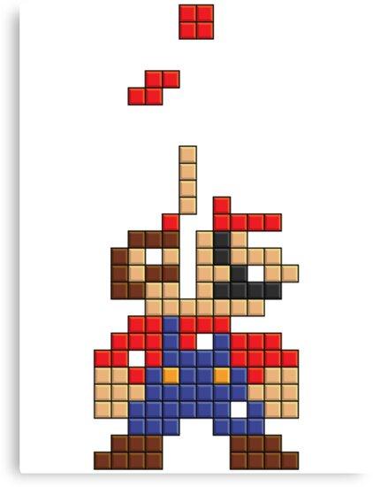 Super Mario Pixel by tombst0ne