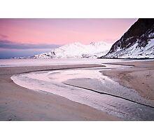Grotfjord Photographic Print