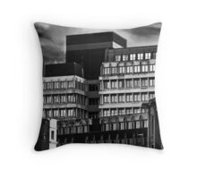 The Concrete Office Throw Pillow