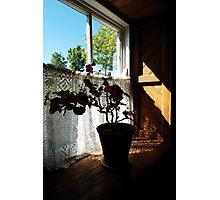 Irish Cottage Window Cultra Photographic Print