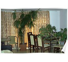 The apartment dining area Poster