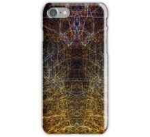 Lightpainting Abstract Symmetry UFA Prints #9 iPhone Case/Skin