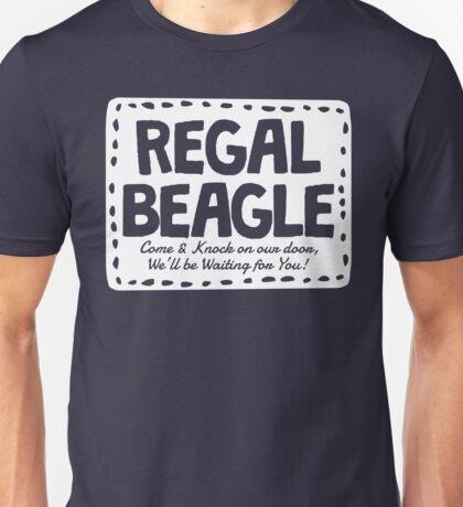 Regal Beagle Bar Shirt Unisex T-Shirt
