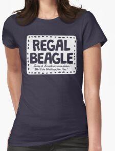 Regal Beagle Bar Shirt Womens Fitted T-Shirt