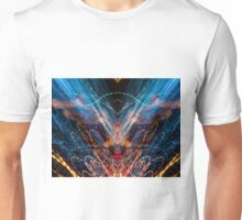 Lightpainting Abstract Symmetry UFA Prints #11 Unisex T-Shirt