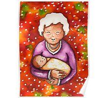 Grandma and Baby Poster