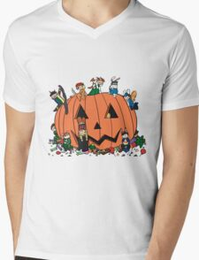 halloween rogues Mens V-Neck T-Shirt
