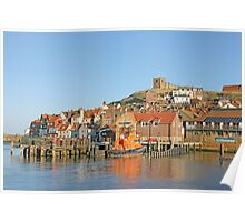 Whitby Lifeboat Poster